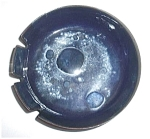 Click to view larger image of BLUE ENAMEL ART DECO ASHTRAY (Image1)