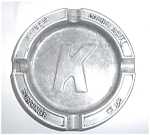 Click to view larger image of OLD KAISER COMMERICAL FORGINGS CLUB ASHTRAY (Image1)