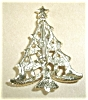 Click to view larger image of CHRISTMAS TREE BROOCH SIGNED GERRYS (Image2)