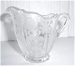 Click to view larger image of FLORAL ETCHED GLASS CREAMER (Image1)