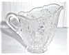 Click to view larger image of FLORAL ETCHED GLASS CREAMER (Image2)