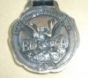 Click to view larger image of OLD 2 SIDED STANDARD VARNISH WORKS ELASTICA WATCH FOB (Image3)
