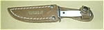 VERMONT SOUVINER KNIFE W/SHEATH UB HUNTER
