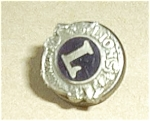 Click to view larger image of LIONS INTERNATIONAL SCREW  ON PINBACK (Image1)