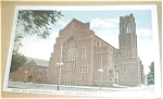 Click here to enlarge image and see more about item PCA28: SARAH JANE MEMORIAL M.E.CHURCH JOHNSON CITY N