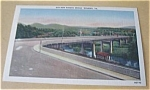 Click here to enlarge image and see more about item PCA50: NEW WASENA BRIDGE ROANOKE VIRGINIA LINEN