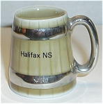 Click here to enlarge image and see more about item SH12: WADE IRELAND MUG HALIFAX  NS (CANADA)