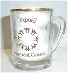 Click here to enlarge image and see more about item SH3: EXPO67 MONTREAL CANADA SHOT GLASS