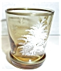 Click to view larger image of AMBER WHITE GOLD PAINTED BOY SHOT GLASS (Image3)