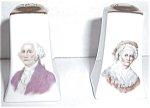 OLD GEORGE /  MARTHA WASHINGTON SALT & PEPPER