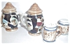 Click to view larger image of OLD JAPAN STEIN / MUG SALT & PEPPER SHAKERS (Image2)