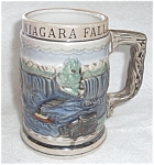 Click to view larger image of HAND PAINTED STEIN MUG CANADA JAPAN US 1540 (Image1)