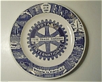 1958 ROTARY INTERNATIONAL ELMIRA NY PLATE