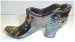 Click to view larger image of MOSSER CARNIVAL GLASS SHOE (Image1)