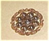 Click to view larger image of EARLY PLASTIC 9 FAUX DIAMONDS 1 1/8 INCH (Image2)