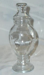 Click here to enlarge image and see more about item W139: VINTAGE BUBBLIOUS CANDY DISH
