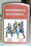 Click to view larger image of INDEPENDENCE BICENTENNIAL BAND 1776-1976 OK (Image1)