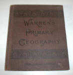 Click here to enlarge image and see more about item W202: VINTAGE 1886 WARREN`S PRIMARY GEOGRAPHY