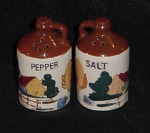 Click here to enlarge image and see more about item W230: RELCO JAPAN SALT AND PEPPER SHAKERS