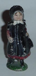 Click here to enlarge image and see more about item W232: CAST IRON AMISH GIRL
