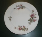 Click here to enlarge image and see more about item W306: ROYAL ROSE 9 1/4 INCH PLATE JAPAN