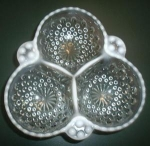 Click to view larger image of MOONSTONE CLOVERLEAF BOWL (Image1)