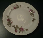 Click here to enlarge image and see more about item W325: ROYAL ROSE 10 INCH PLATE JAPAN