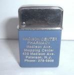 Click to view larger image of PHARMACY ADV. MADE IN USA  MADE BY GEM? NOS (Image1)