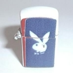 Click to view larger image of PLAYBOY WHITE MINI VENDING MACHINE LIGHTER (Image1)