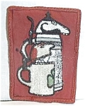Click here to enlarge image and see more about item W483: RARE SHULTZ & DOOLEY ARM PATCH 1960`S