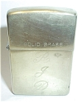 Click to view larger image of ZIPPO SOLID BRASS 1932-1992 (Image1)