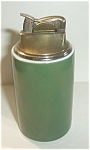EVANS GREEN PORCELAIN TABLE LIGHTER