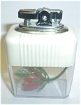 JAPAN VU CREAM/CLEAR ROSE TABLE LIGHTER