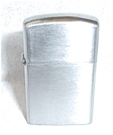 Click to view larger image of ALARON JAPAN SLIM BRUSH CHROME LIGHTER (Image1)