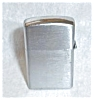 Click to view larger image of ALARON JAPAN SLIM BRUSH CHROME LIGHTER (Image2)