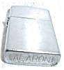 Click to view larger image of ALARON JAPAN SLIM BRUSH CHROME LIGHTER (Image3)
