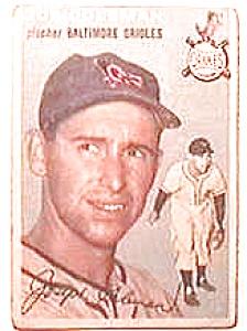 Joe Coleman baseball card 1954 Topps #195 (Image1)