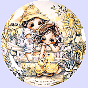 'children Of The Seasons' Jody Bergsma Plate Set