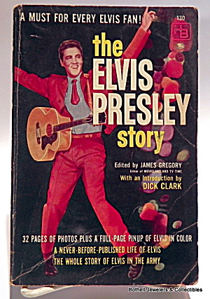 'The Elvis Presley Story' vintage book 1960 (Image1)