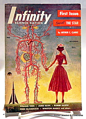 'infinity' Science Fiction Vol.1, #1 First Edition Mag