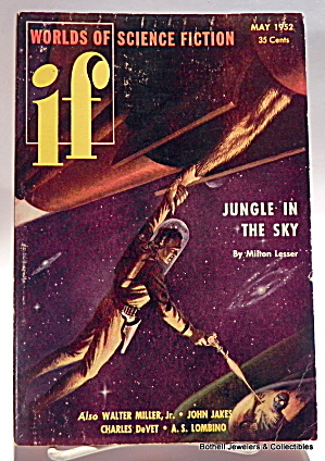 'if' Science Fiction Vintage Magazine Vol.1, No.2