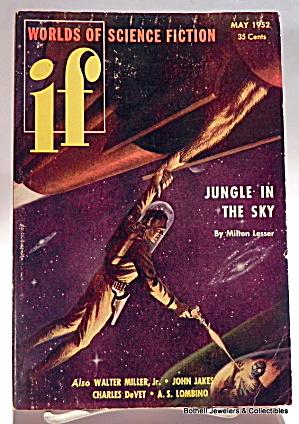 'If' science fiction vintage magazine vol.1, no.2 (Image1)