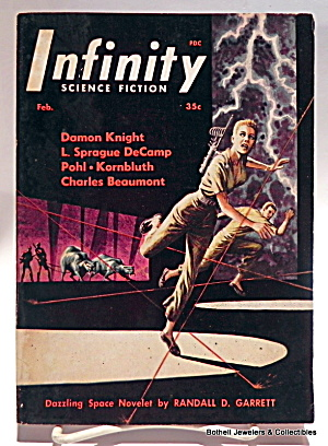 'Infinity' Science Fiction mag vol. 1, #2, Second issue (Image1)