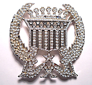 Belt Buckle Trucker girl Cadillac rhinestone (Image1)