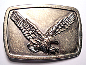 Belt Buckle Eagle Design Embossed