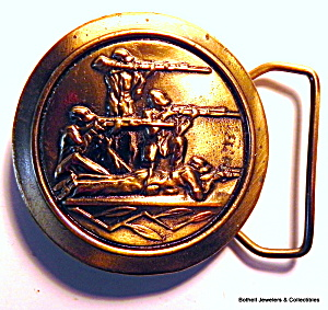 Belt Buckle Hunters design vintage (Image1)