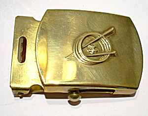 Vintage Boy Scout brass belt buckle (Image1)