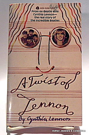 'a Twist Of Lennon' Vintage Beatles Book 1980