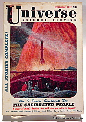 'Universe' vintage Science Fiction magazine 1953 (Image1)