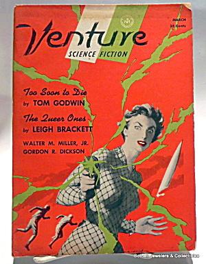 'Venture' vintage Science Fiction magazine 1957 (Image1)